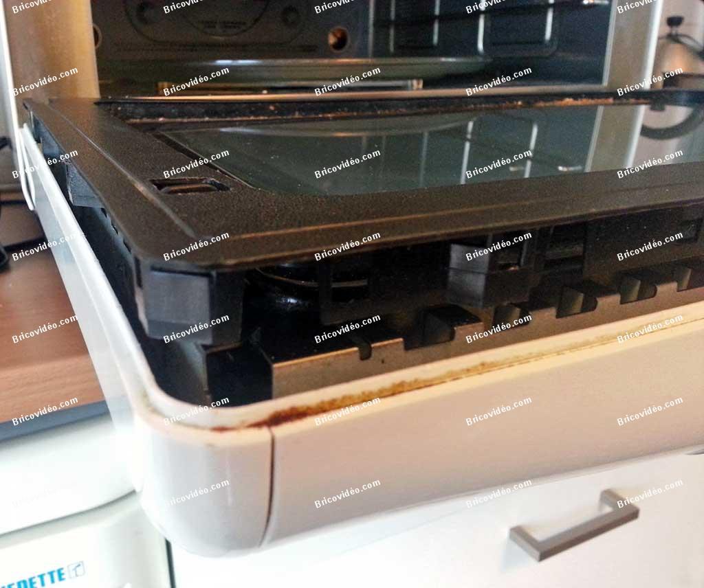 Panne micro ondes whirlpool jt 358 - Demontage porte four whirlpool ...