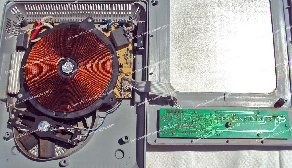 Panne allumage plaques induction De Dietrich DTI 702 X | Conseils ...