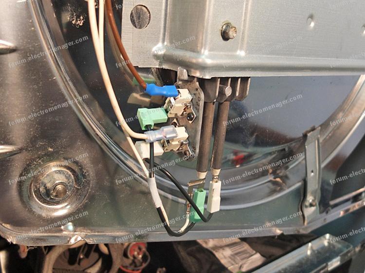 dépannage sèche linge Bauknecht TR 6110