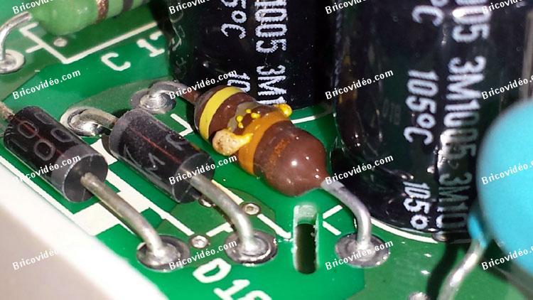 Remplacement composants sèche linge Whirlpool AWZ8279