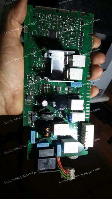 dépanner carte lave vaisselle Bosch SMS53M58FF