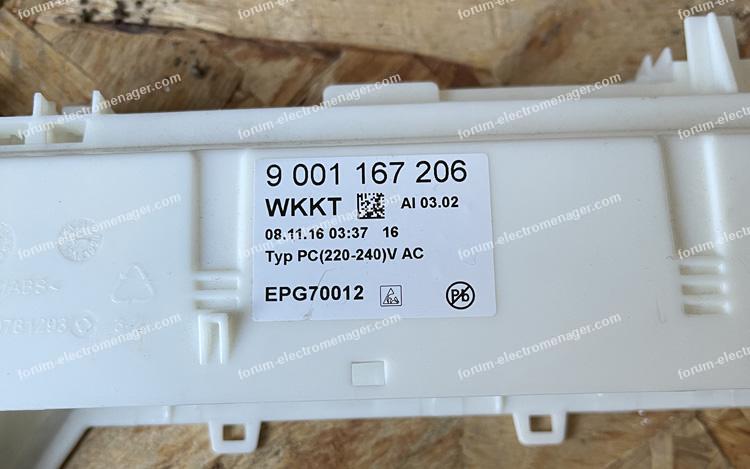 dépanner lave vaisselle Bosch SMS88TI16E