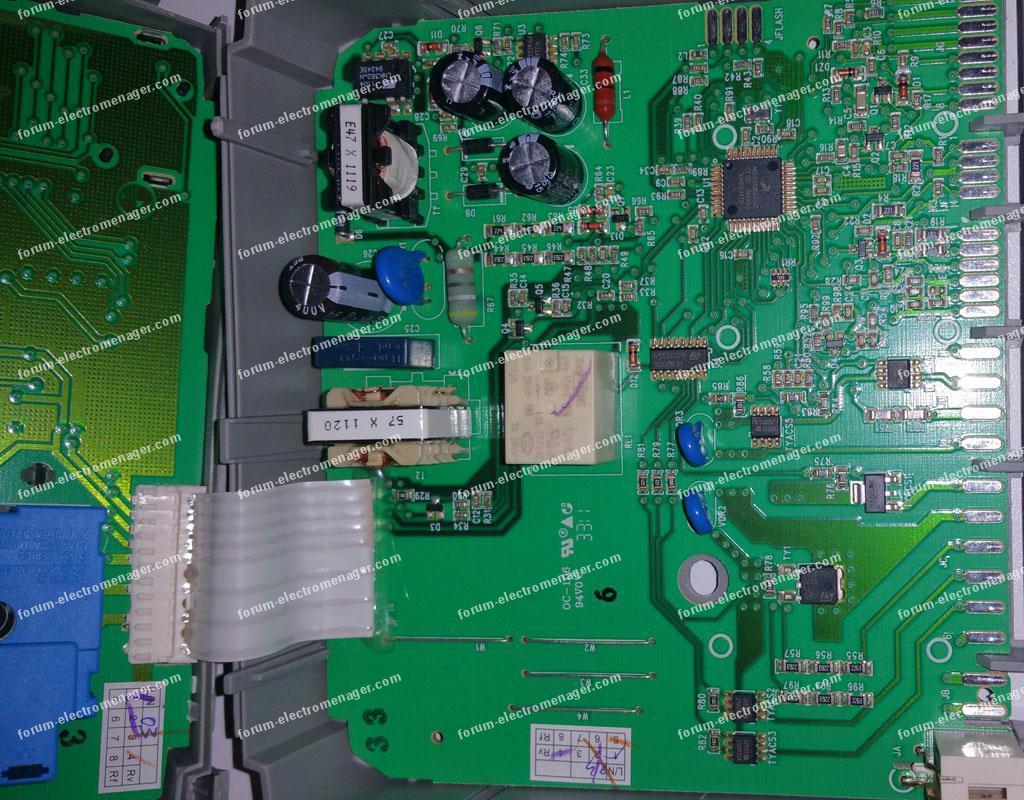 dépanner carte lave vaisselle Electrolux ESF65031W