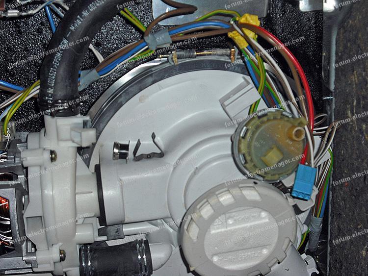 lave vaisselle Miele disjonction sécurité thermique