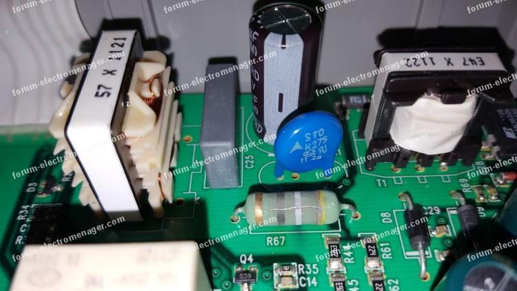 dépannage carte lave vaisselle Electrolux forum électroménager
