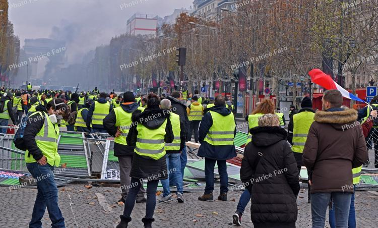 Manifestations des Gilets Jaunes Paris
