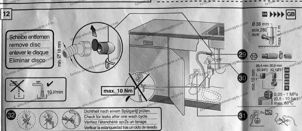 Notice montage porte lave vaisselle siemens 20170814043005 for Montage porte lave vaisselle encastrable