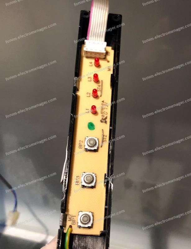 interrupteur hotte De Dietrich DHD519XE1