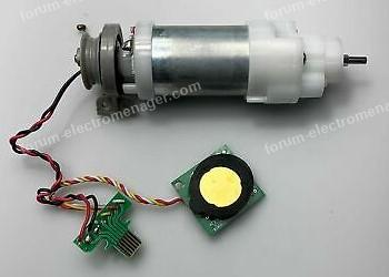 kit moteur et detecteur de saletes