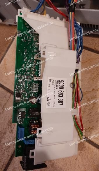 lave vaisselle Bosch code E04