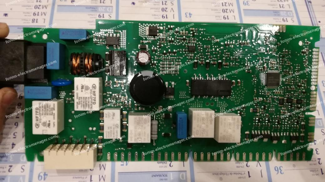 lave vaisselle Bosch SMS53M58FF ne s'allume plus