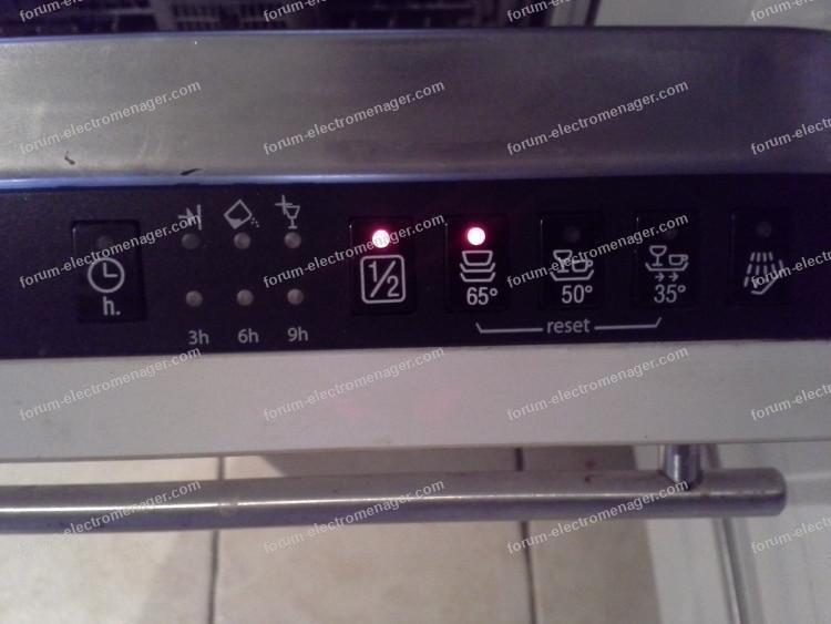 lave vaisselle VIVA ne demarre pas