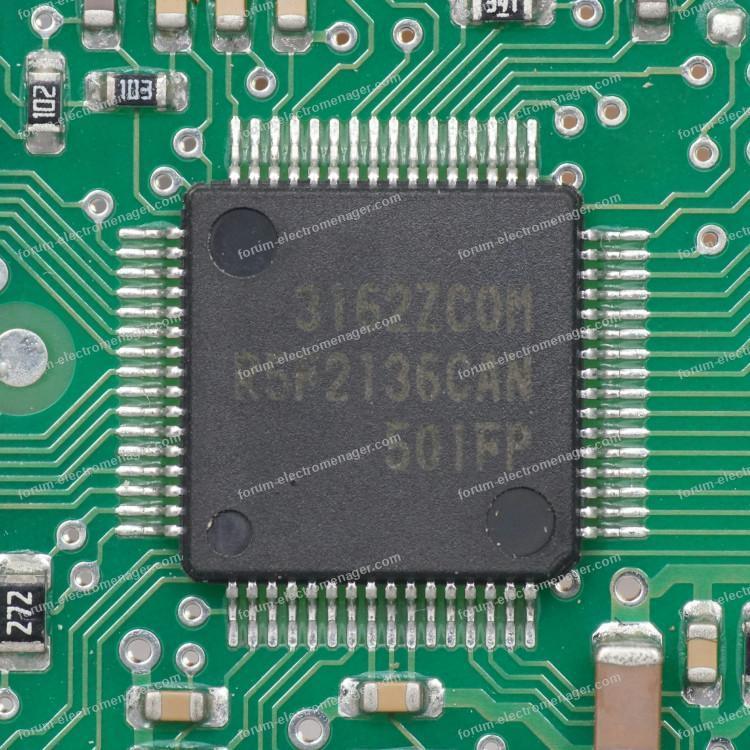 microcontrôleur carte lave-vaisselle Bosch