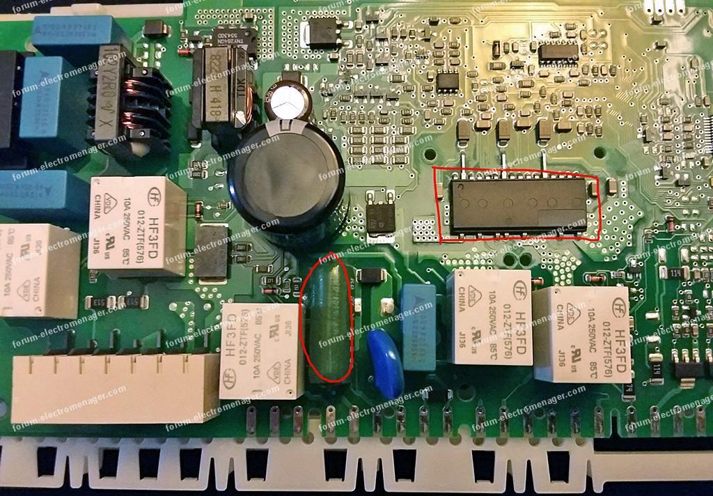 module d'alimentation lave-vaisselle Siemens SN26T290EU