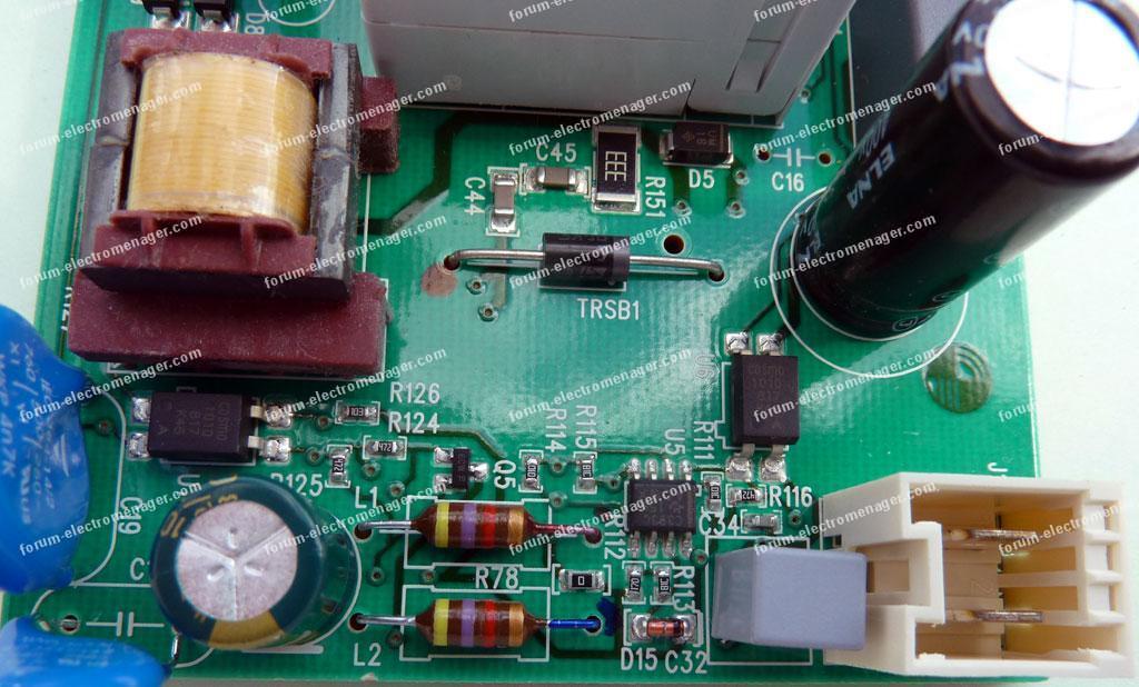 module détection d'humidité sèche-linge