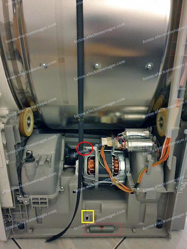 moteur sèche-linge Electrolux