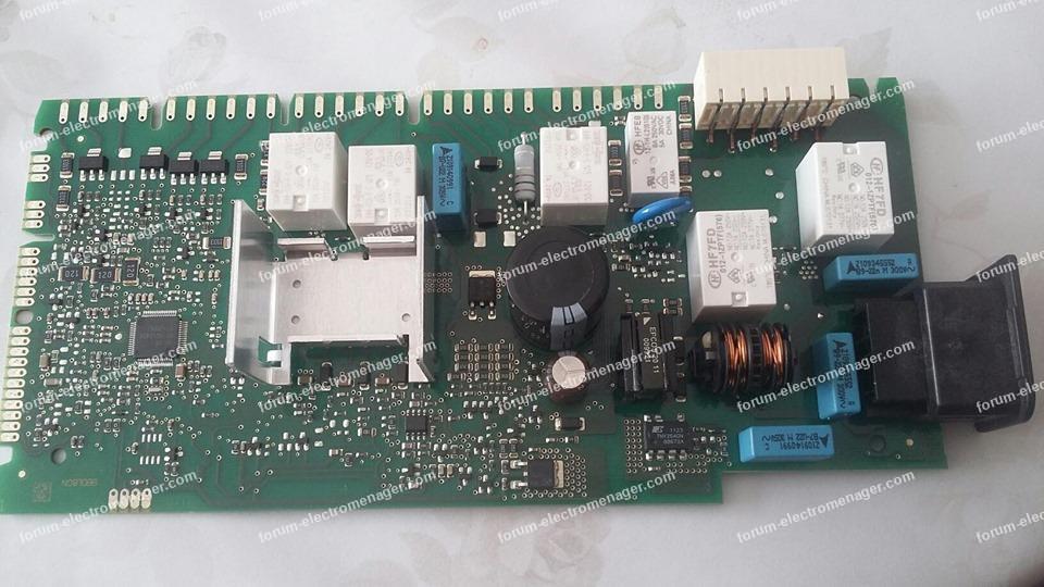 panne carte lave vaisselle Bosch SMS53M58FF