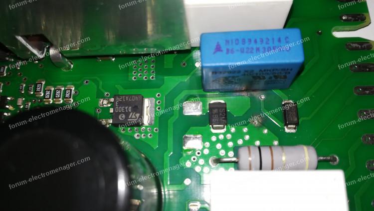 panne carte électronique lave-vaisselle Bosch SMI53M95EU / 44