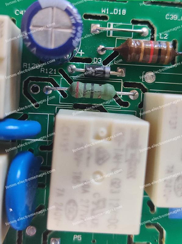 dépannage carte électronique lave vaisselle Whirlpool