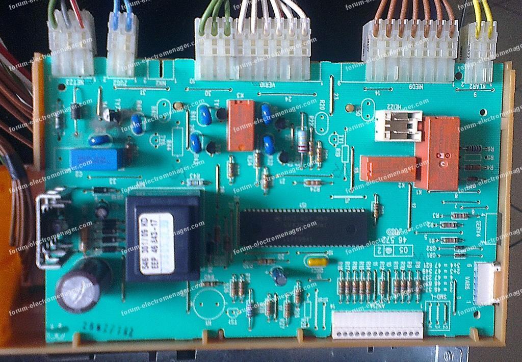 panne carte lave vaisselle Bosch SGS8512FF/12