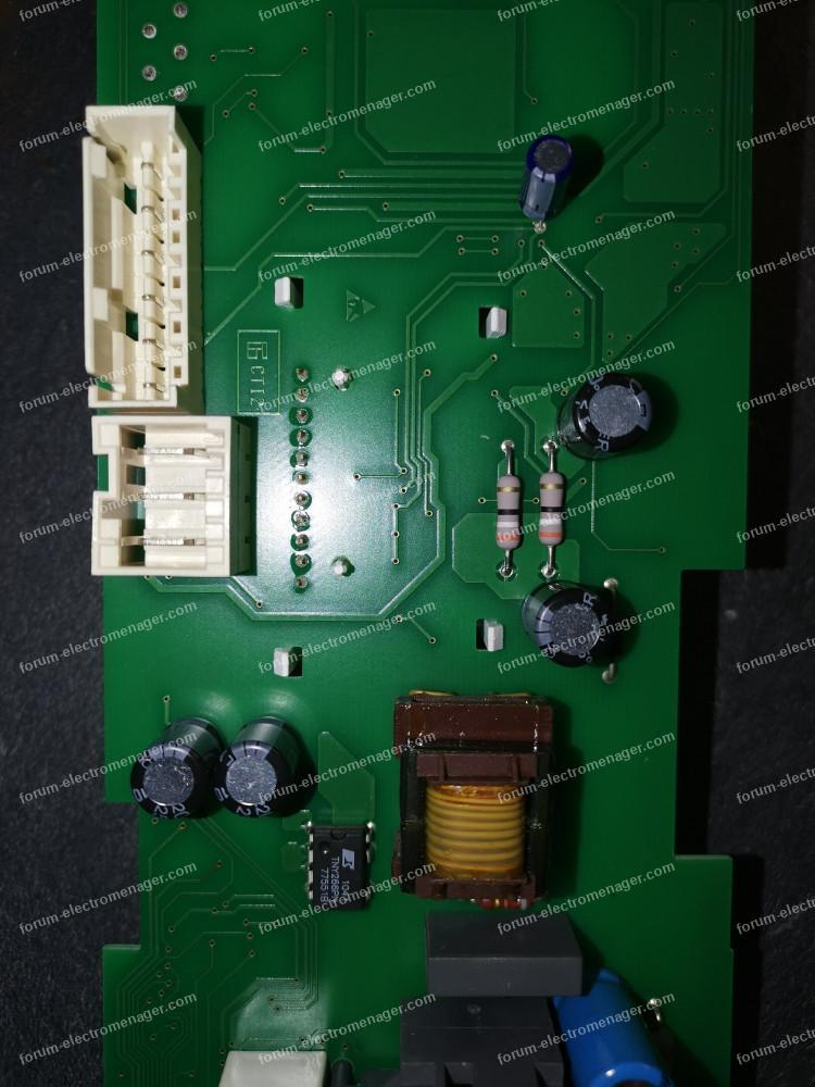 panne carte sèche linge Bosch WTE86304FF/27