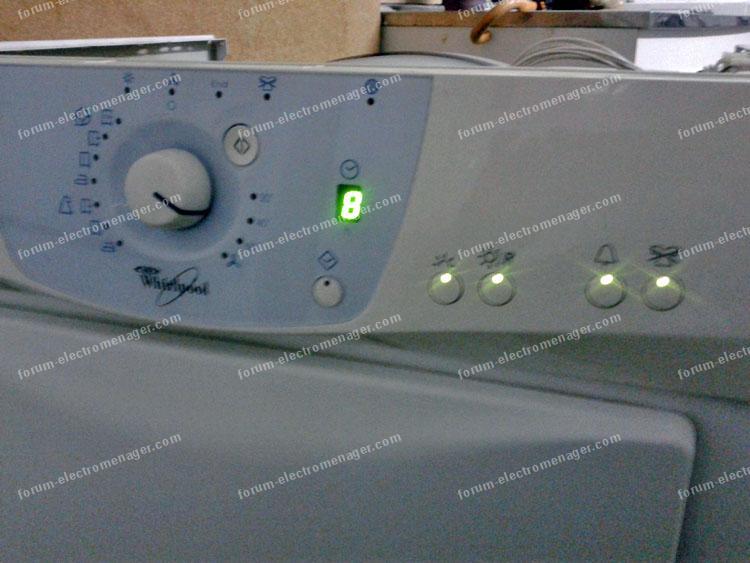 dépannage sèche linge Whirlpool AWZ235