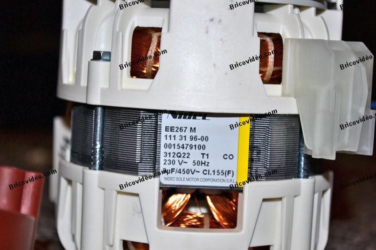 plaque signaletique pompe lave vaisselle