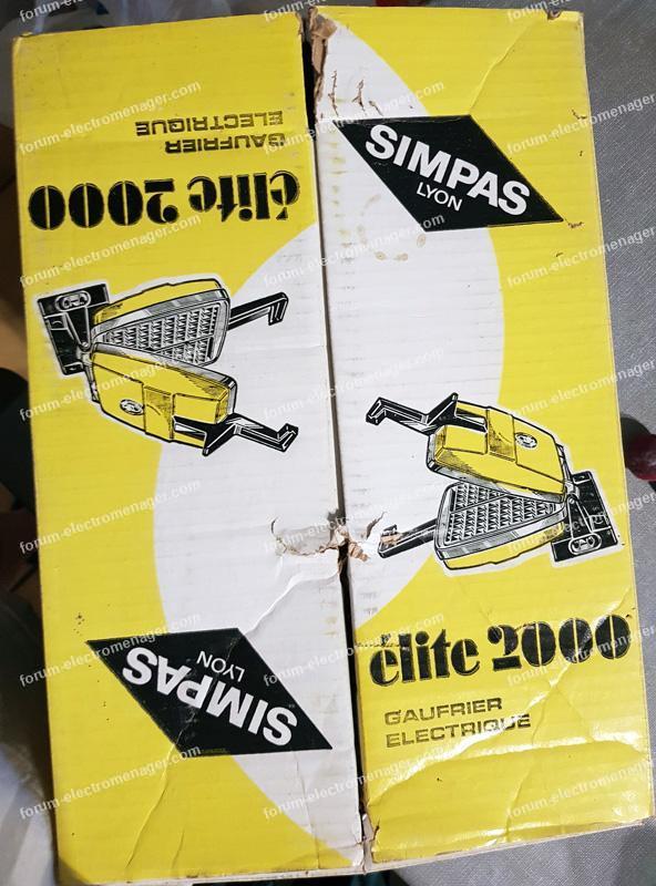 plaques à croque monsieur gaufrier Simpas