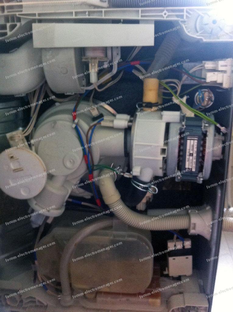 Code Panne F14 Lave Vaisselle Miele G 1230 Sc