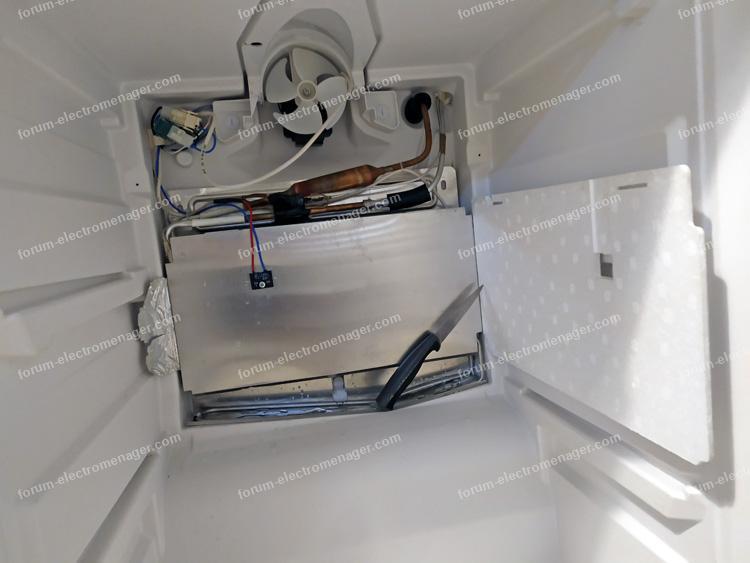 Problème froid sur frigo congélateur Liebherr 3813