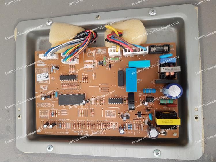 Problème alarme réfrigérateur Daewoo RF-422NT