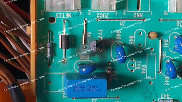 problème carte lave vaisselle Bosch SGS8512FF/12