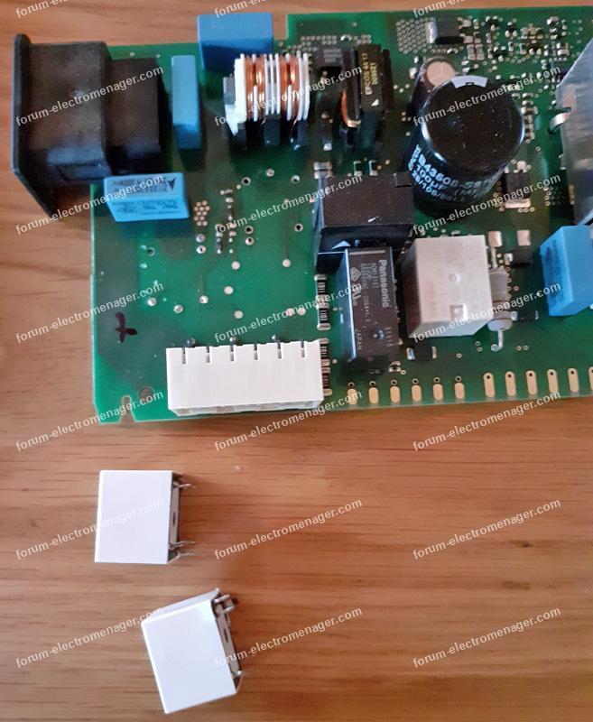 problème circuit de chauffe lave-vaisselle Bosch