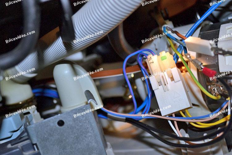 raccordements électriques lave-vaisselle AEG Favorit