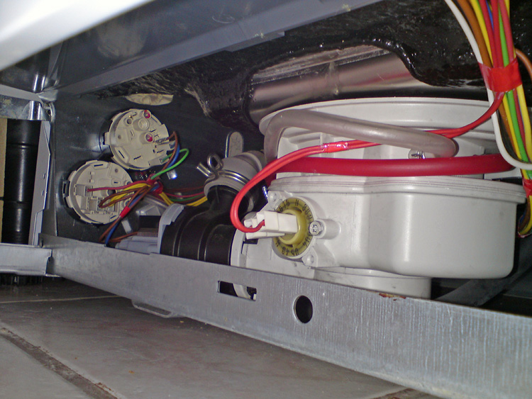 remplacement pressostat lave vaisselle