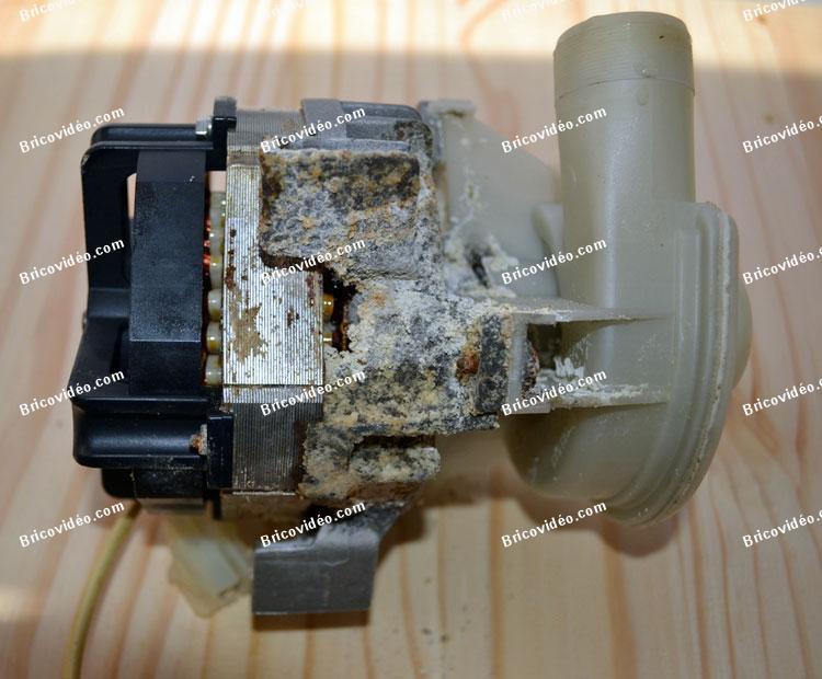 remplacer pompe de Cyclage lave-vaisselle