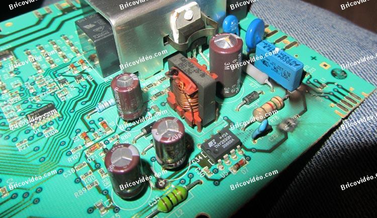 dépanner carte machine à laver AWF1373 Arthur Martin