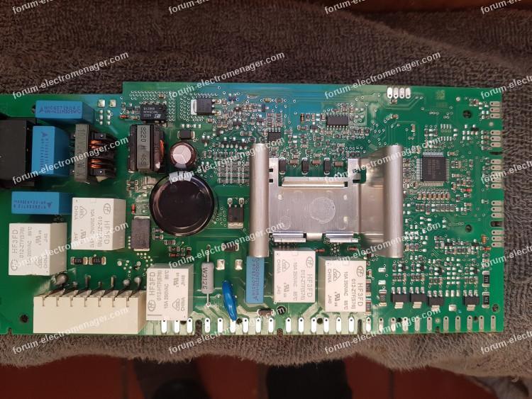 réparation carte puissance lave vaisselle Siemens
