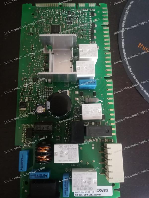 réparer carte lave vaisselle Bosch