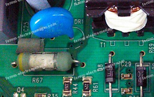 dépannage carte lave vaisselle Electrolux ESF65031W