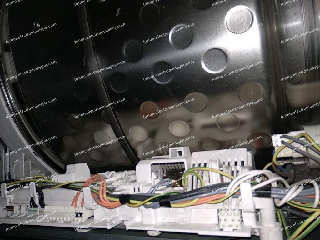 sèche-linge AEG T86590IH ne chauffe plus