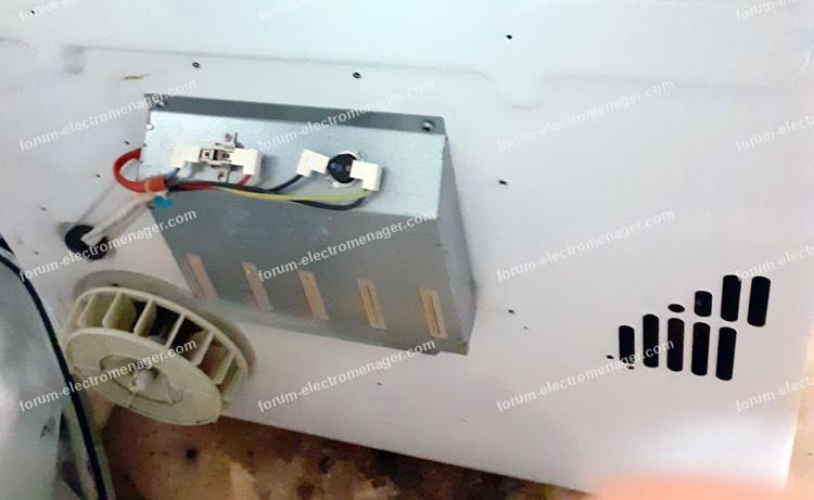 sèche linge Candy Smart CS C8LG-47 ne chauffe plus