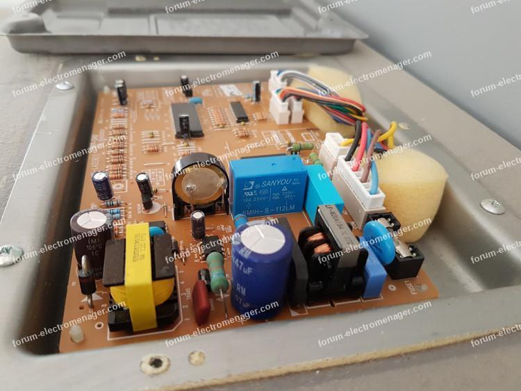 supprimer alarme réfrigérateur Daewoo