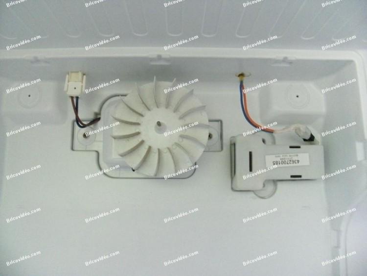 ventilateur frigo + sonde congélateur Beko